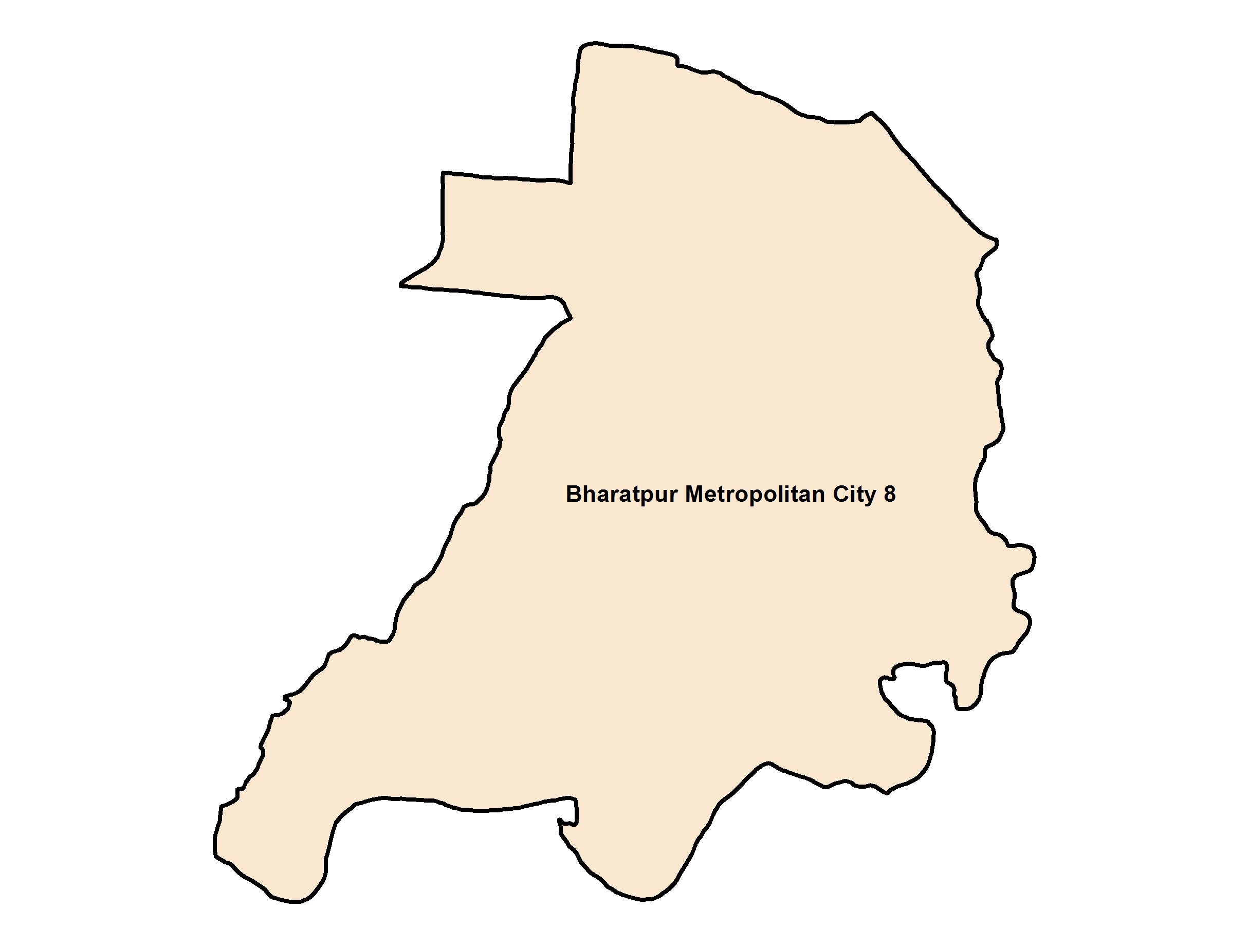 Bharatpur_Ward 8_Map
