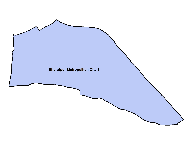 Bharatpur_Ward 9_Map