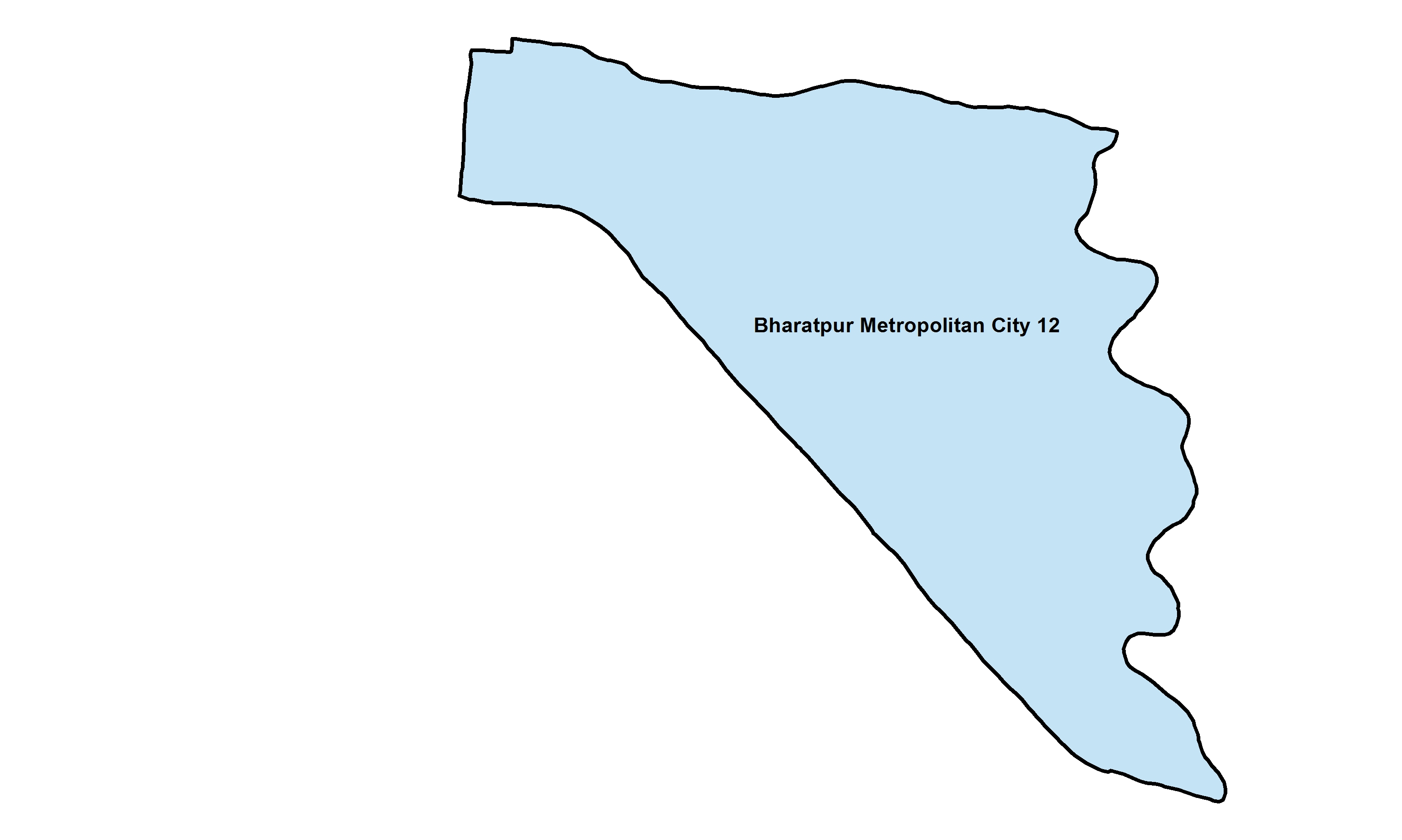 Bharatpur_Ward 12_Map