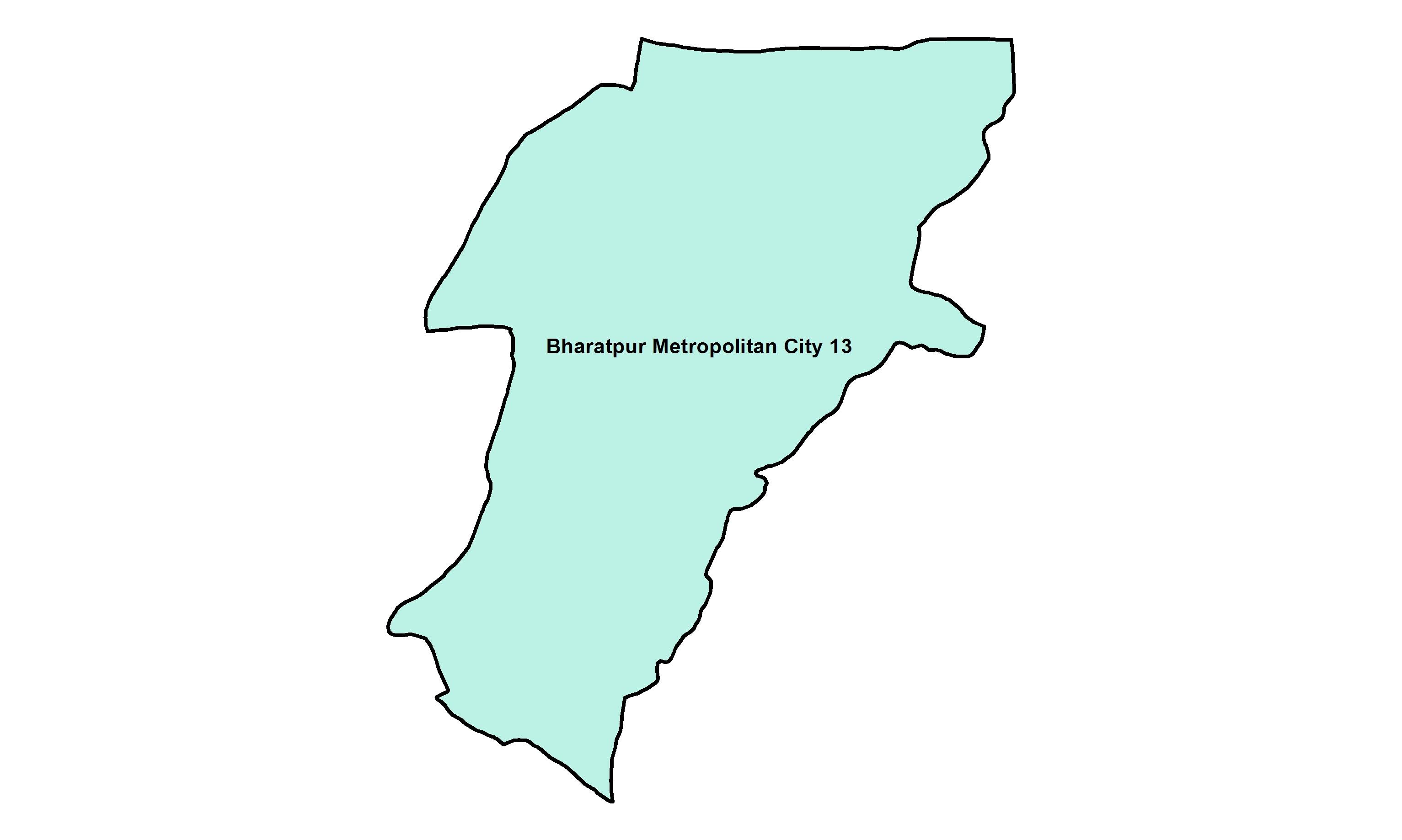 Bharatpur_Ward 13_Map
