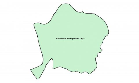 Bharatpur_Ward_1_Map