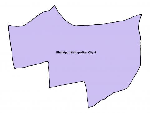 Bharatpur_Ward 4_Map