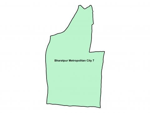Bharatpur_Ward 7_Map