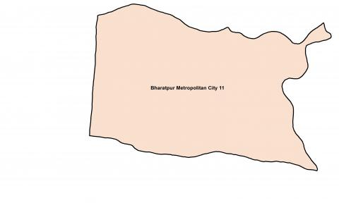 Bharatpur_Ward 11_Map