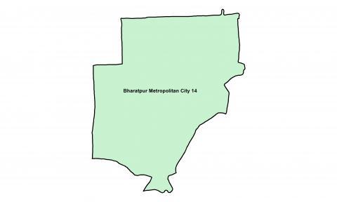 Bharatpur_Ward 14_Map