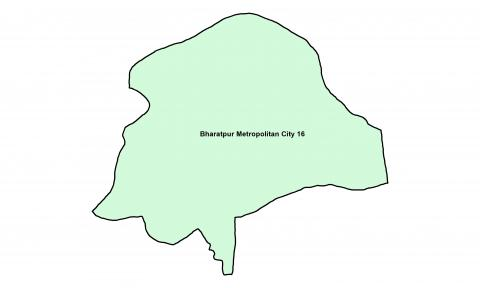 Bharatpur_Ward 16_Map