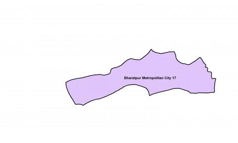 Bharatpur_Ward 17_Map