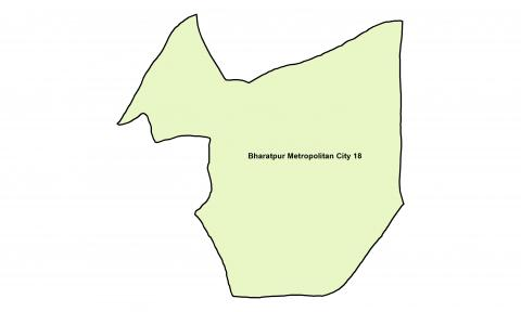 Bharatpur_Ward 18_Map
