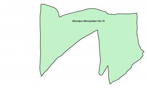 Bharatpur_Ward 19_Map