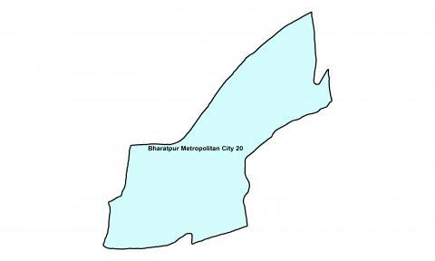 Bharatpur_Ward 20_Map