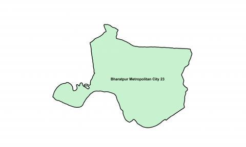 Bharatpur_Ward 23_Map