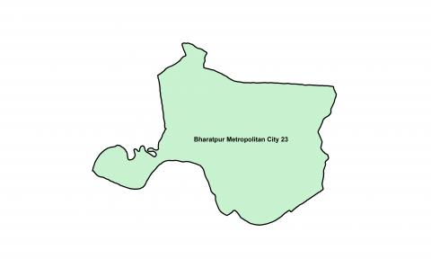 Bharatpur_Ward 23_Map