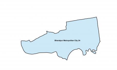Bharatpur_Ward 24_Map
