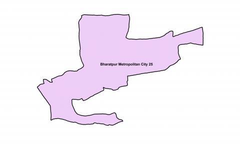 Bharatpur_Ward 25_Map