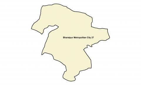 Bharatpur_Ward 27_Map