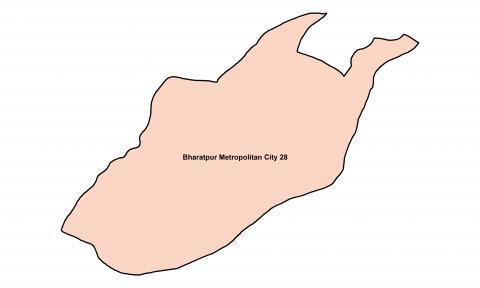 Bharatpur_Ward 28_Map