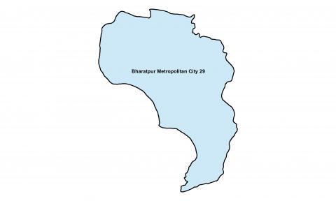 Bharatpur_Ward 29_Map
