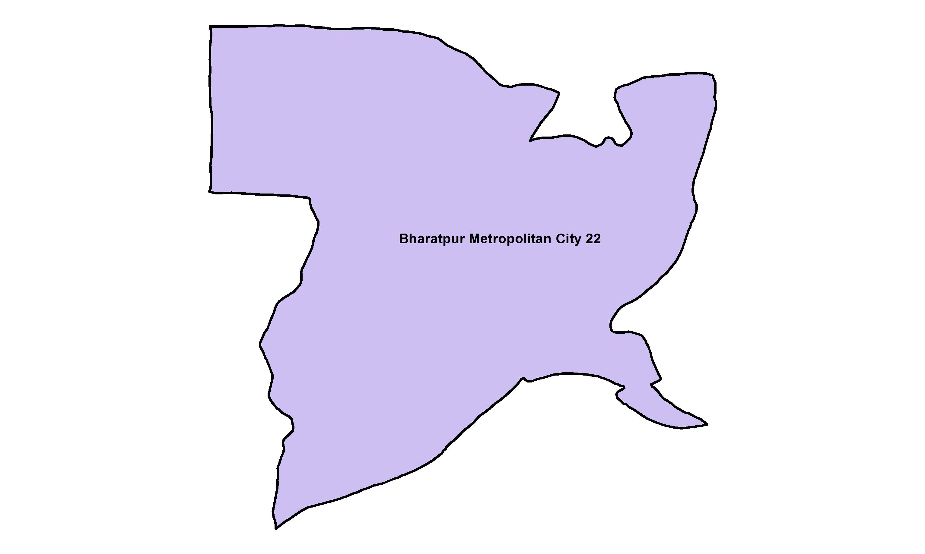 Bharatpur_Ward 22_Map