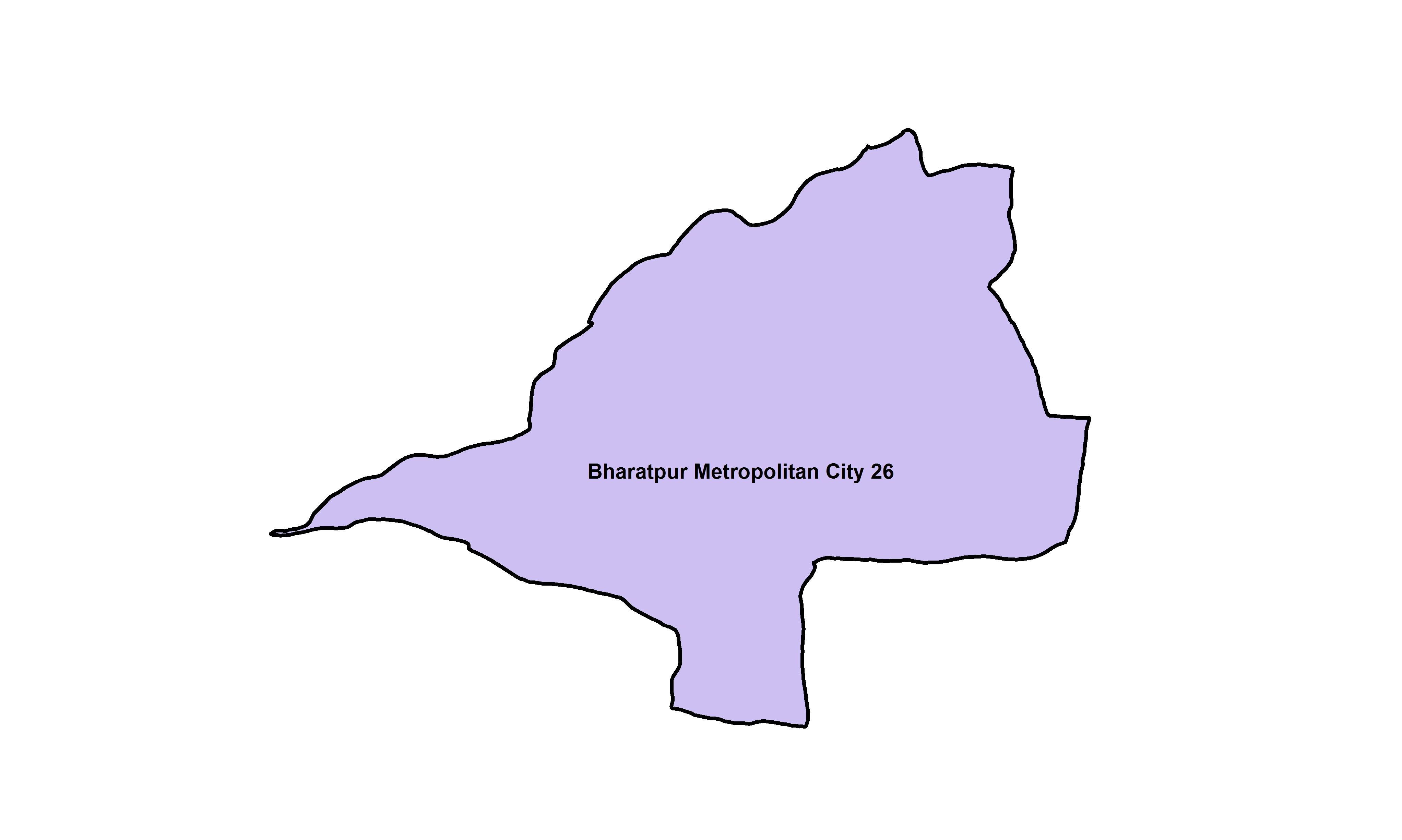 Bharatpur_Ward 26_Map